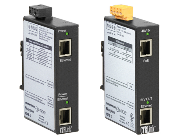Productoverzichtpagina Power over Ethernet (PoE)