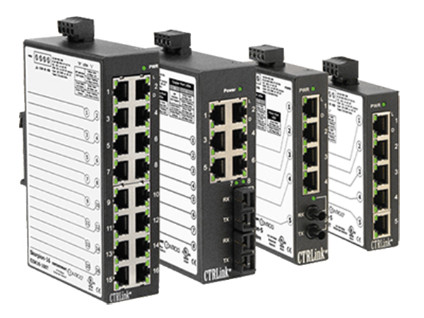 Productoverzichtpagina unmanaged switches