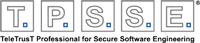 Logo TeleTrusT Professional for Secure Software Engineering