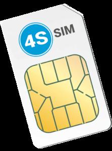 4S-sim simkaart