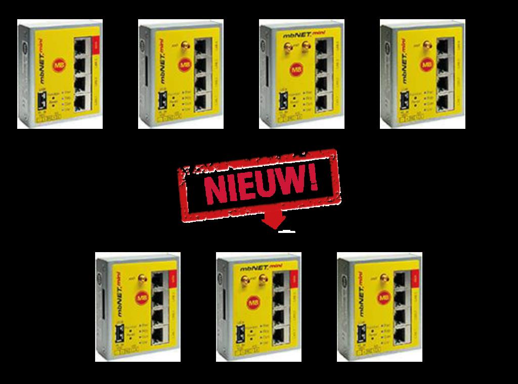 mbNET.mini - Nieuwe modules 2019