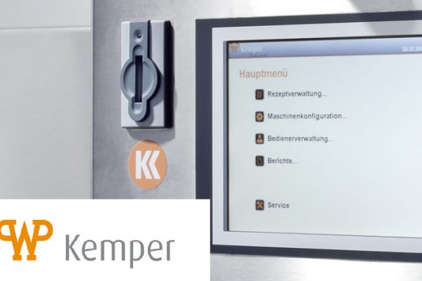 Success Story - WP Kemper - Bedieningsscherm