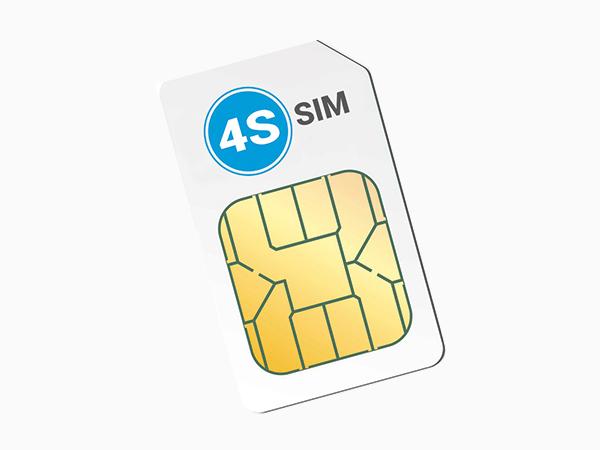 Productpagina 4S-sim industriële simkaart