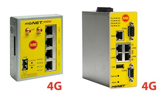 mbNET.mini & mbNET met 4G
