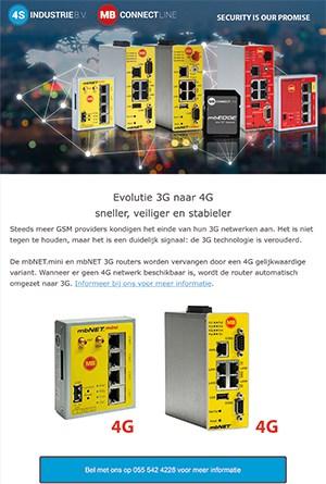 Nieuwsbrief 2020 06 - Evolutie van 3G naar 4G