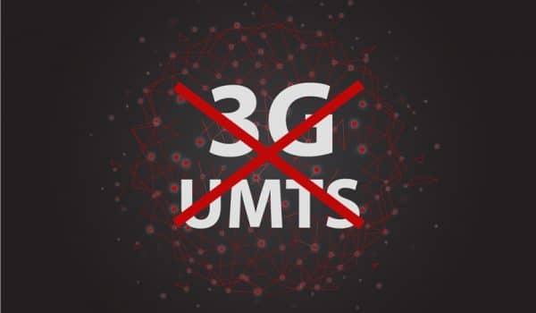 Einde 3G UMTS