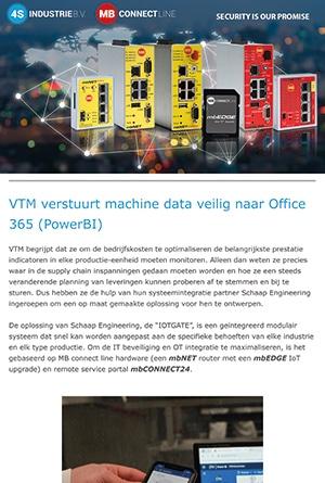Nieuwsbrief 2021 04 Machine data veilig naar Office 365