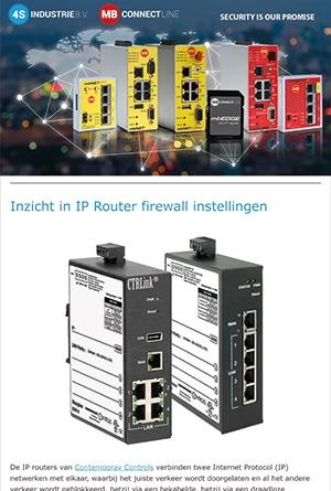 Nieuwsbrief 2021 06 - Inzicht in IP Router firewall instellingen