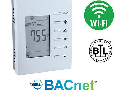 Thermostaat verbinding met BACnetIP via een Wi-Fi verbinding